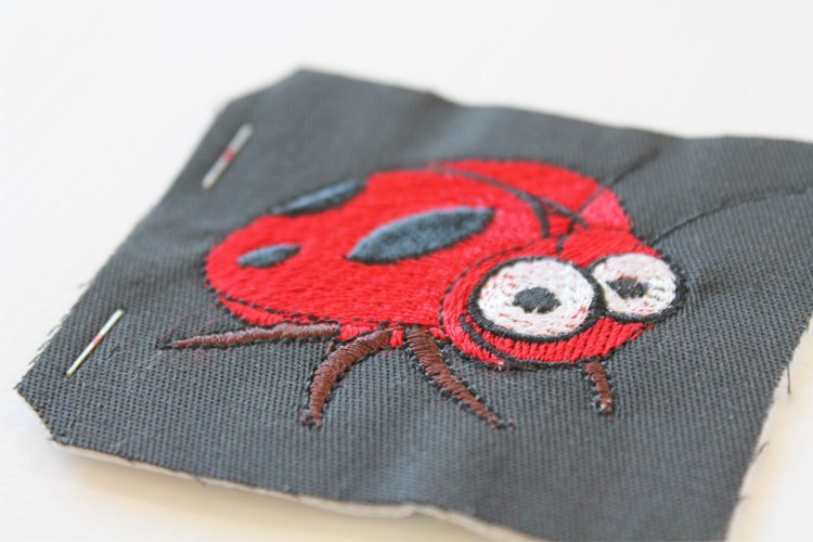 Embroidered badge 2