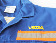 Vega embroidered overall