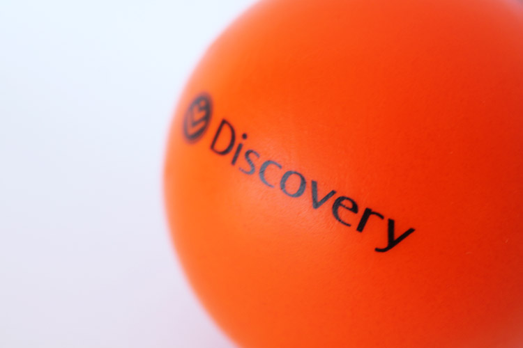 Discovery Stress Ball