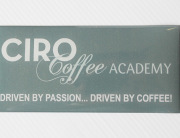 Ciro Coffee Academy domed sticker