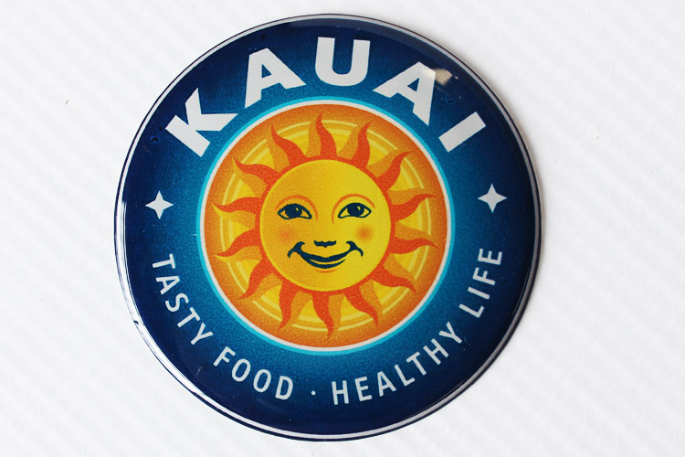 Kauai Domed Sticker
