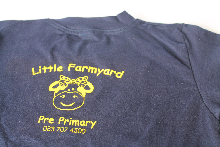 Little Farmyard Screen Printed Tee