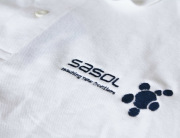 Sasol Embroidered Golf Shirt